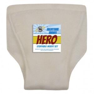 Super Undies Bamboo Hennep Insert voor Hero Nachtluier ( 2-6 jaar )