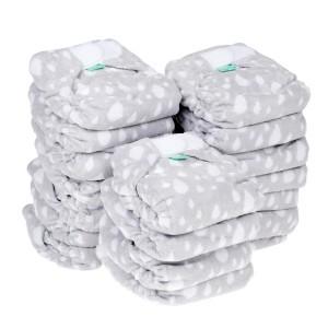 Voordeelpakket Totsbots Bamboozle Stretch Plop (Grijs) maat 2 (20 stuks)