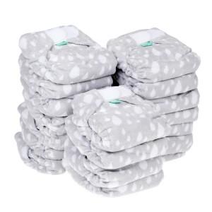 Voordeelpakket Totsbots Bamboozle Stretch Plop Grijs maat 1 (20 stuks)