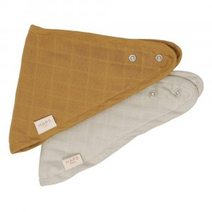 Haps Nordic Bandana Slab (2-pack) Mix Neutral