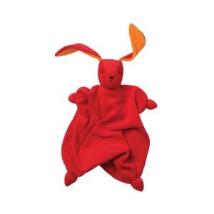 Peppa Knuffeldoekje Tino Rood/Oranje