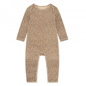 Konges Slojd Basic Onesie Rosaraie Red