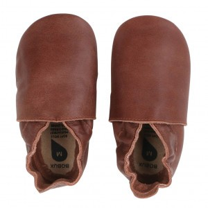 Bobux Soft Soles Simple Shoe Toffee