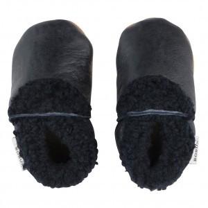 Bobux Soft Soles Slinks Zwart