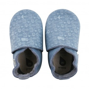 Bobux Soft Soles Transport Blauw