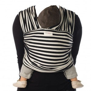 Babylonia Tricot Slen Design Black & White Stripes