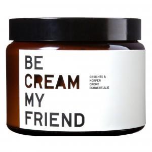 Be Cream My Friend Gezichts-en Lichaamscrème Irisbloesem (500 ml)