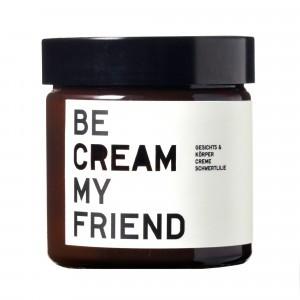 Be Cream My Friend Gezichts-en Lichaamscrème Irisbloesem (120 ml)