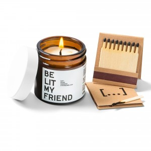 Be Lit My Friend Geurkaars Rozemarijn & Citroenmelisse (60 ml)