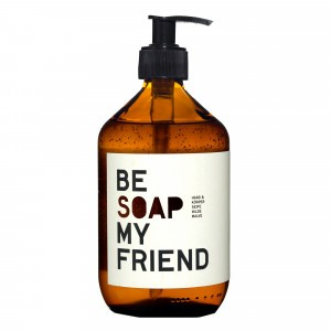 Be Soap My Friend Hand-en Bodywash Wild Mauve (500 ml)