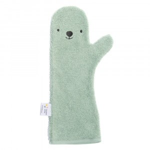 Invented 4 Kids Baby Shower Glove Bear Green