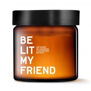 Be Lit My Friend Geurkaars Bergamot & Dennenhout (60 ml)