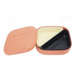 Ekobo Bento Lunchbox Coral + 2 compartimenten