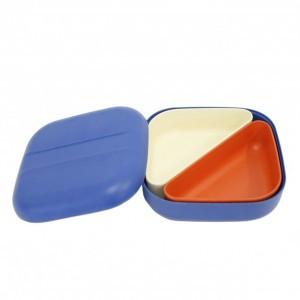 Ekobo Bento Lunchbox Blauw + 2 compartimenten