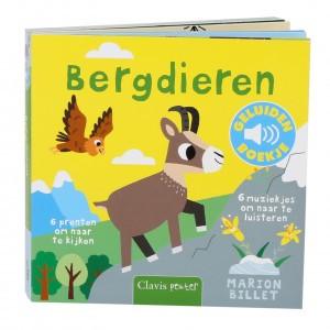 Clavis Geluidenboekje Bergdieren