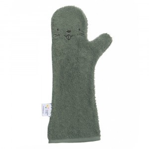 Invented 4 Kids Baby Shower Glove Beaver Dark Green