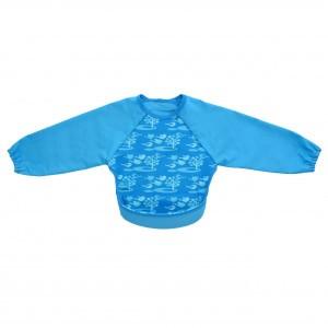Bibetta UltraSlab met mouwen Vogel Turquoise