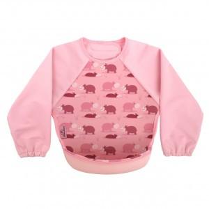 Bibetta UltraSlab met mouwen Oud Roze Nijlpaard