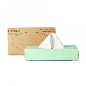 LastObject LastTissue Big Box - 18 herbruikbare zakdoekjes Green