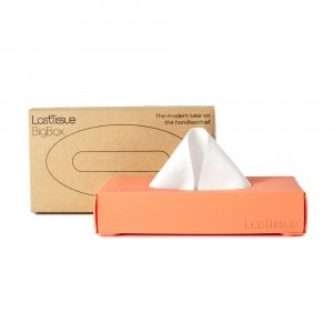 LastObject LastTissue Big Box - 18 herbruikbare zakdoekjes Peach