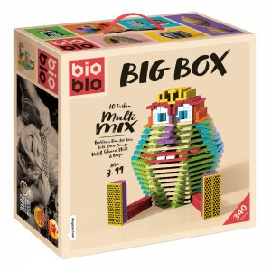 Bioblo Bouwset Big Box Multi Mix (340 stuks)