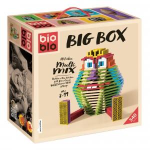 Bioblo Bouwset Big Box Multi Mix (340 stuks)