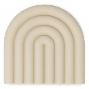 Mushie Silicone Bijtring Regenboog Shifting Sand