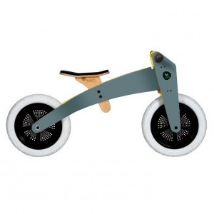 Wishbone Bike 2-in-1 Hout Grijze