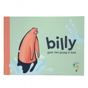 Yumi Yay Voorleesboekje Billy gaat niet graag in bad