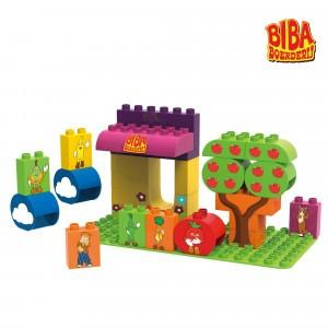 Biobuddi Bouwblokken Biba Boerderij Marktkraam