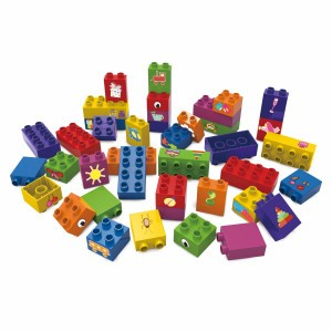 Biobuddi Bouwblokken Learning to Build (40 stuks)
