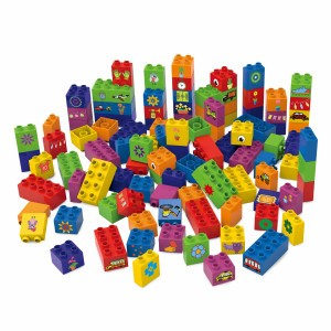 Biobuddi Bouwblokken Learning to Build (100 stuks)