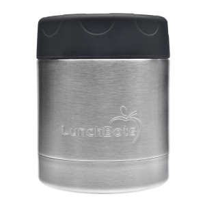 LunchBots Insulated Food Container (235ml) Zwart