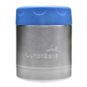 LunchBots Insulated Food Container (235ml) Royal Blue