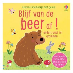 Usborne Voelboekje met geluid Blijf van de beer af!