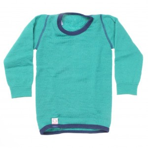 Woolpower Thermisch Ondergoed Shirt met lange mouwen - Turtle Green
