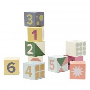 Kid's Concept Houten Blokken 1 tot 10 Edvin