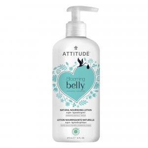 Attitude Blooming Belly Voedende Bodylotion Argan (473 ml)
