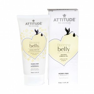 Attitude Blooming Belly Natural Verzorgende Olie