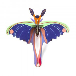 Studio Roof 3D Insects - Blue Comet Butterfly