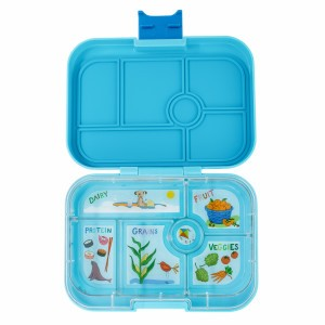 Yumbox Original Blue Fish met Tray California