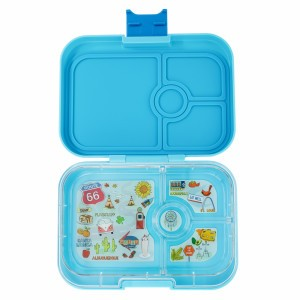 Yumbox Panino Blue Fish met Tray Route 66