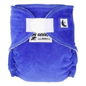 Anavy Nachtluier XL met velcro Blueberry (6-18 kg)