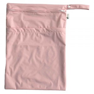 Little Lamb Dubbele Wetbag Large Blush