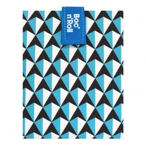 Roll'eat Boc'n Roll Tiles Foodwrap Blauw