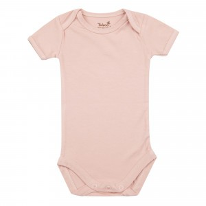 Timboo Body met Korte Mouwen Misty Rose