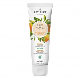 Attitude Super Leaves Body Cream - Energizing