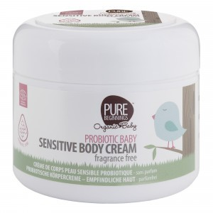 Pure Beginnings Baby Sensitive Bodycrème met probiotica (250 ml)