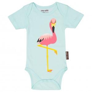 Coq en Pate Body met korte mouwen Flamingo
