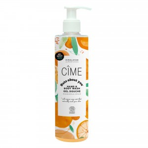 "Cîme 'Nuts About You' Hand- en Bodywash ""Mandarin & Cedar"" (290 ml)"